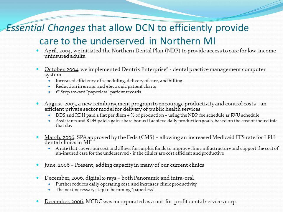 Michigan Community Dental Clinics Why do it.