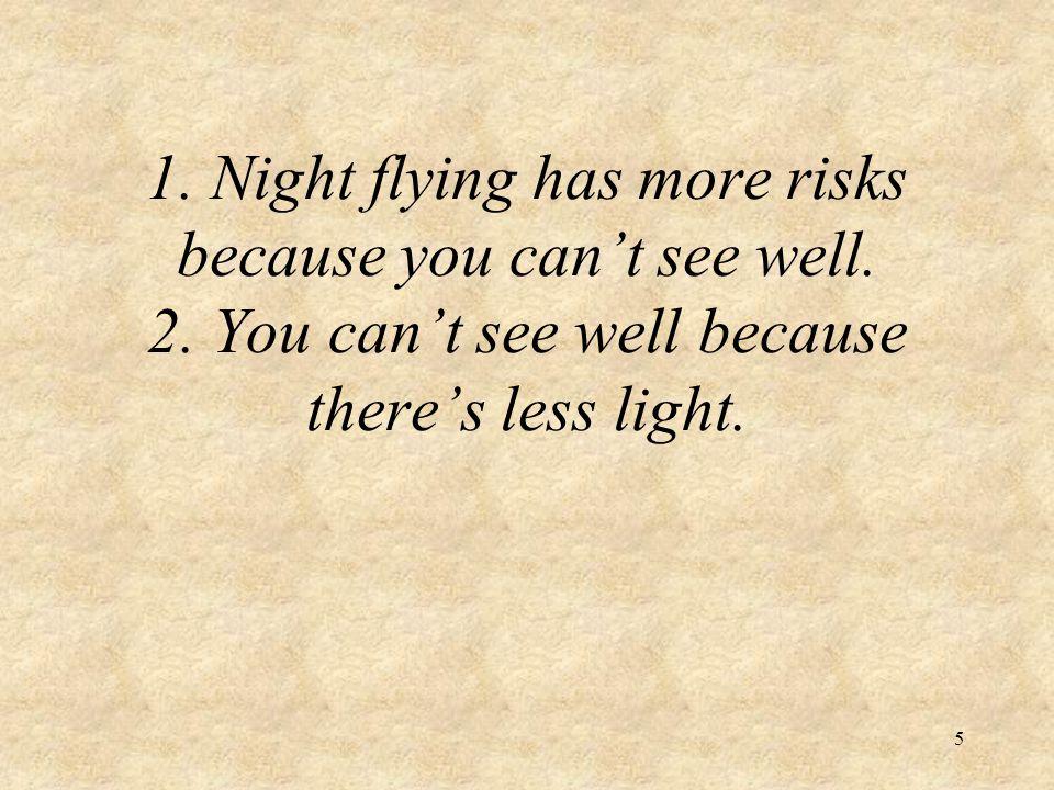 6 Moonlight: Night vs.