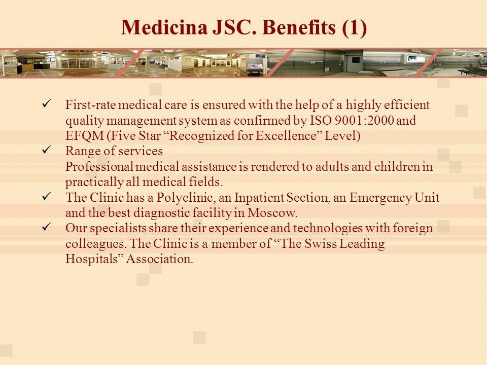 Medicina JSC.