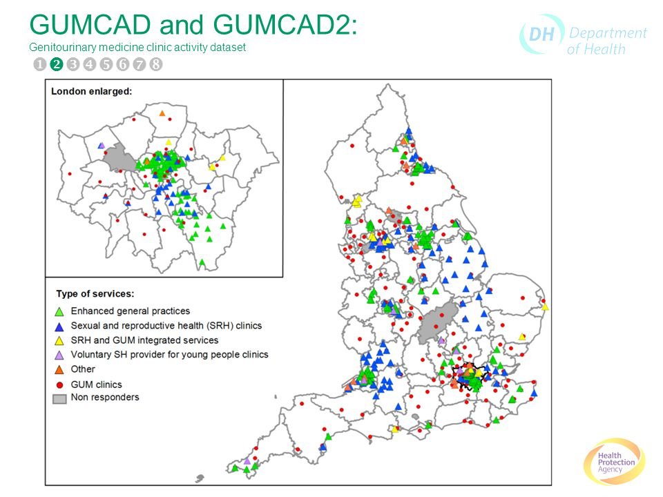 GUMCAD and GUMCAD2: Genitourinary medicine clinic activity dataset