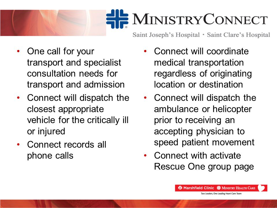 Meeting FMC to Device Times – EMDS/EMS EMDS/EMS Process Improvements Implement & Educate consistent protocols 24/7 Immediate acceptance of STEMI patients One phone call to ED physician-ED activates Rescue One Stop in ED (FMC) or direct to Cath Lab (hospital transfers) Pre-hospital expectations (i.e.