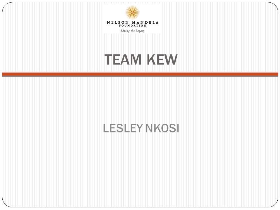TEAM KEW LESLEY NKOSI
