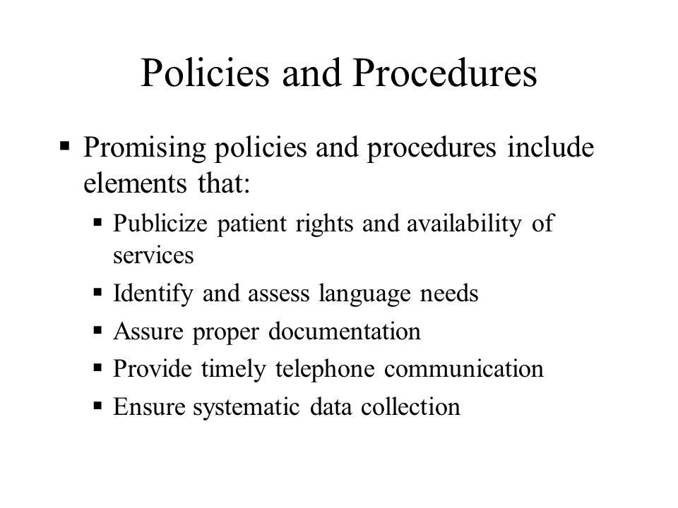 Promising Practices in Health Care Purpose of Presentation: To provide highlights of existing promising practices in the provision and financing of la