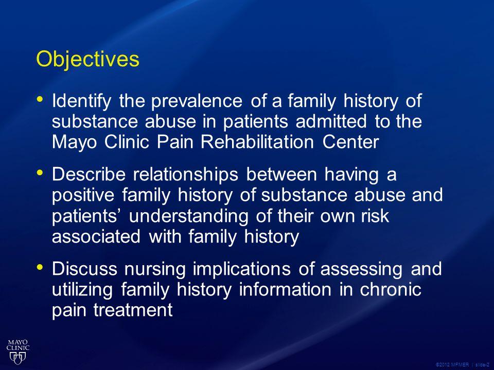 ©2012 MFMER | slide-23 Model regarding use of family history information in health promotion