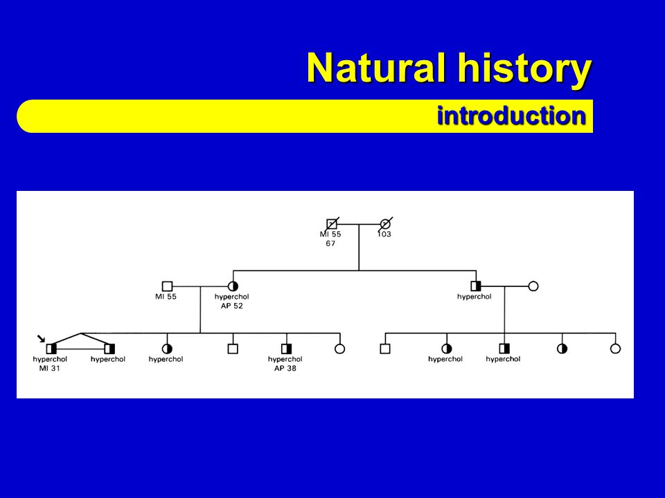 Natural history introduction