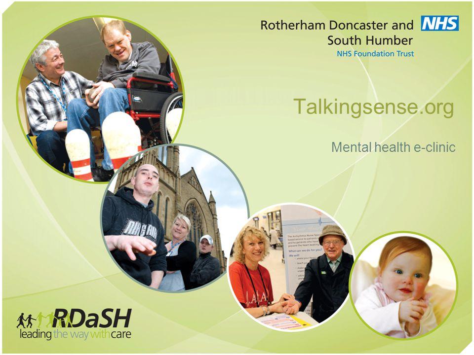 Talkingsense.org Mental health e-clinic