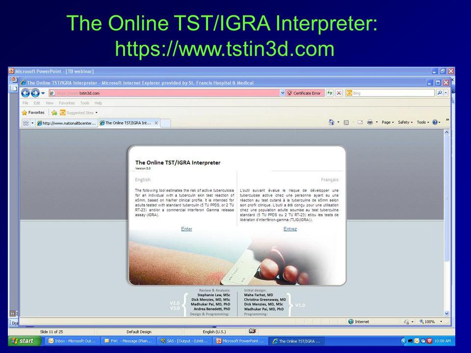 The Online TST/IGRA Interpreter: https://www.tstin3d.com
