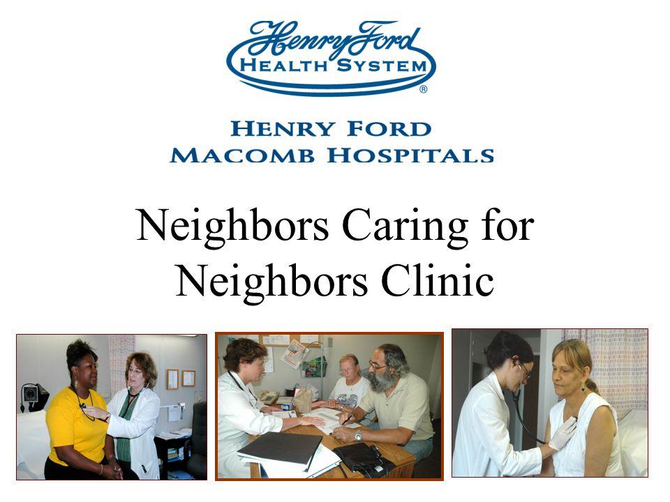 Neighbors Caring for Neighbors Clinic