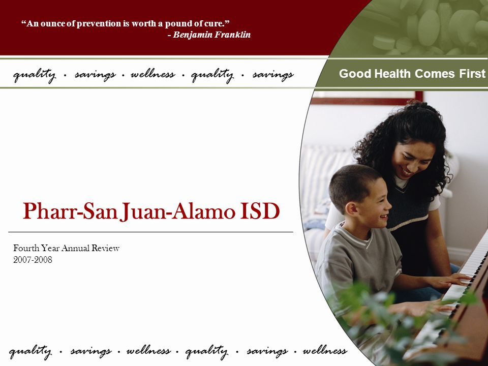 Overview Utilization Top 5 Diagnosis Diagnosis Summary Top 5 Medications Top 5 Referrals Overall Satisfaction Survey Results YTD Clinic Expense Total Paid Claims Primary Care Pharmacy 4 Year compensation Productivity Summary Employee Savings Overall Summary PSJA 2008 Medical Clinic Summary