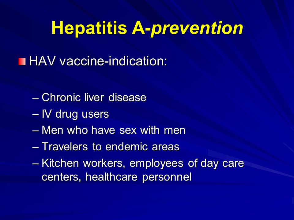 Susceptibility to Hepatitis A in Patients with CLD due to HCV: Shim et al.