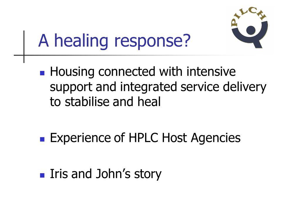 A healing response.