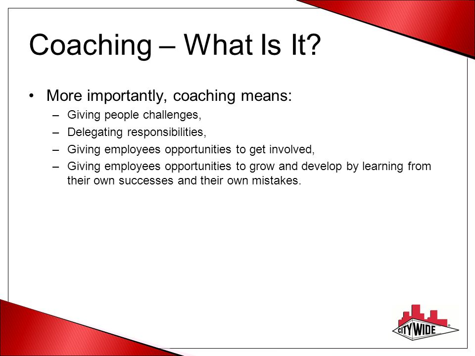 Coaching – What Is It.