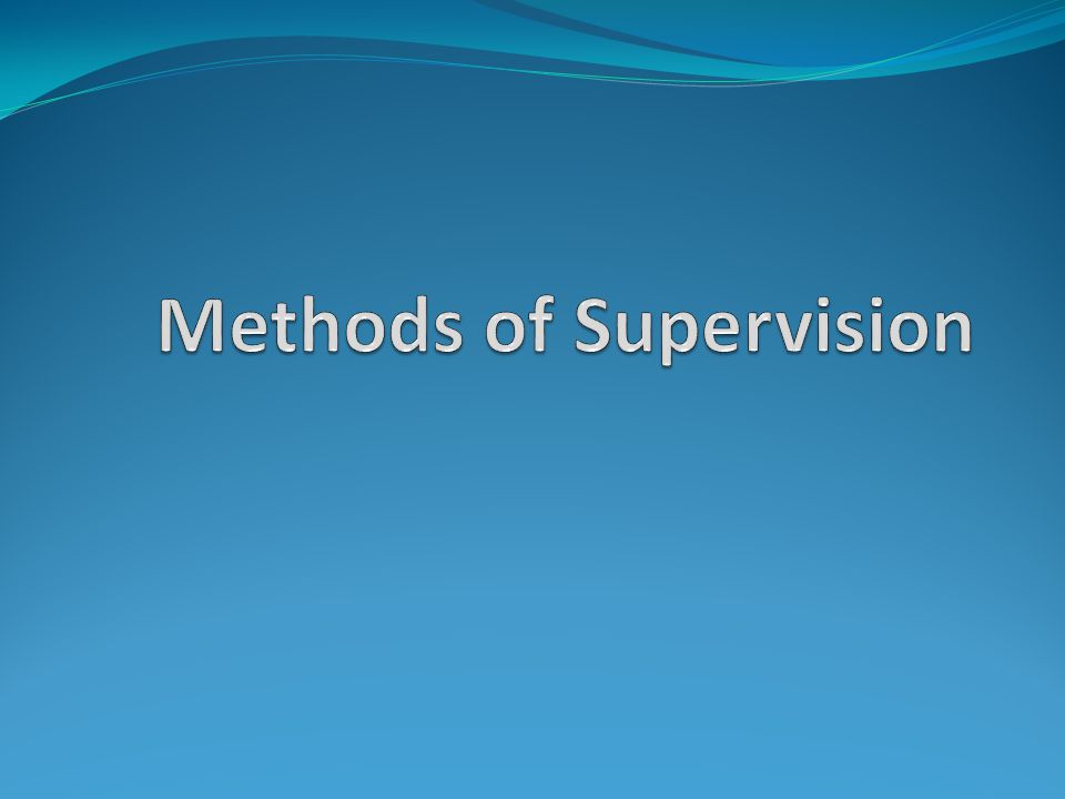 Methods of Supervision In technical terms we use: IPR – Interpersonal Process Recall Discrimination Model (Bernard 1997) Conversations – with supervisors, other students, other supervisors (4 differing opinions) Clinical meetings – case consultations Process Group Observed Session – Couples work