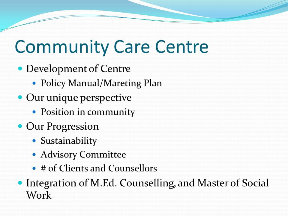Community Need Counselling and Training Workshops, parent support services, group, couples