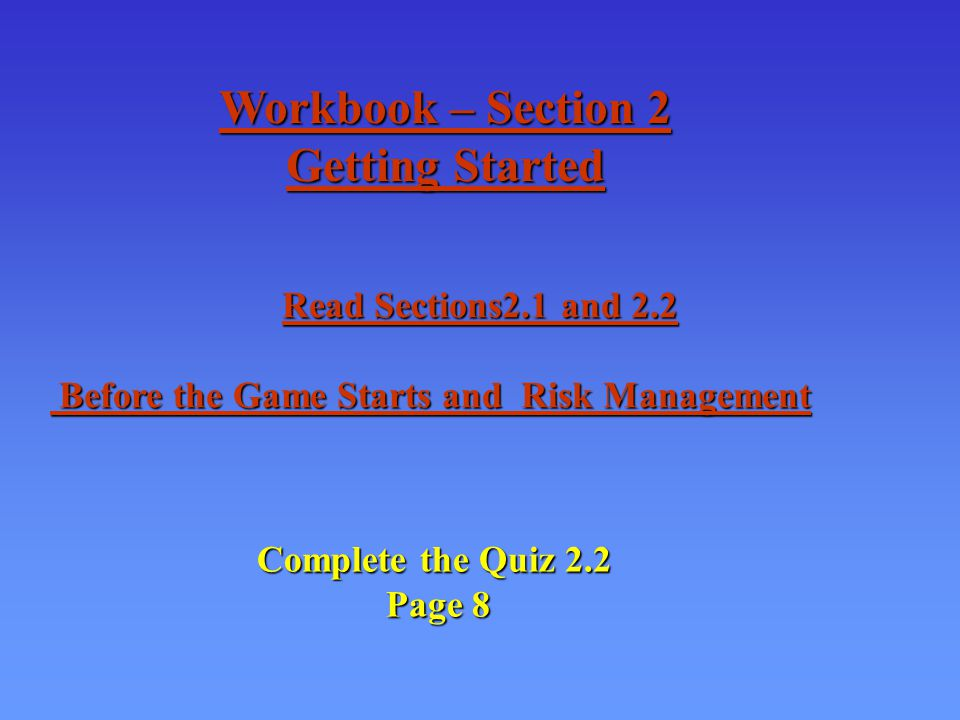 Complete The Quiz 4.1 Page 19 Correct the quiz Correct the quiz