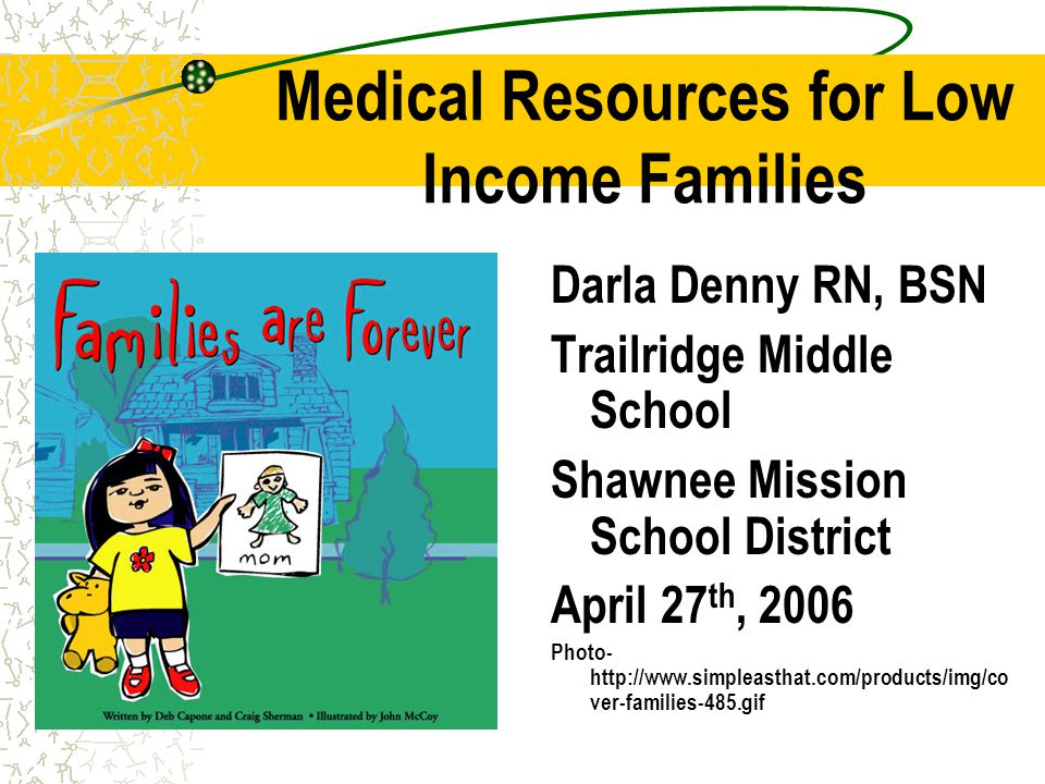 Resources for School Nurses Medical Care Medical Care for Adults and Children Dental Care Dental Care for Adults and Children Eye Care Eye Care for Adults and Children Mental Health Mental Health Care for Adults and Children PharmacyPharmacy assistance Web-site for list of hospitals- with Maps http://www.jocohealth.net/index.asp?DisplayPageID =77 Photo- www.state.ct.us www.state.ct.us