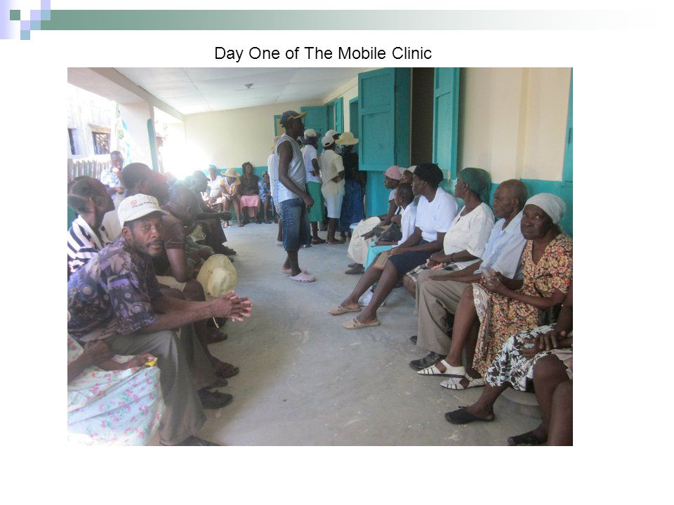 More Patients Being Seen on the Second Day Of The Clinic