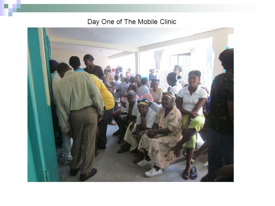 Patient on the Second Day Of The Clinic
