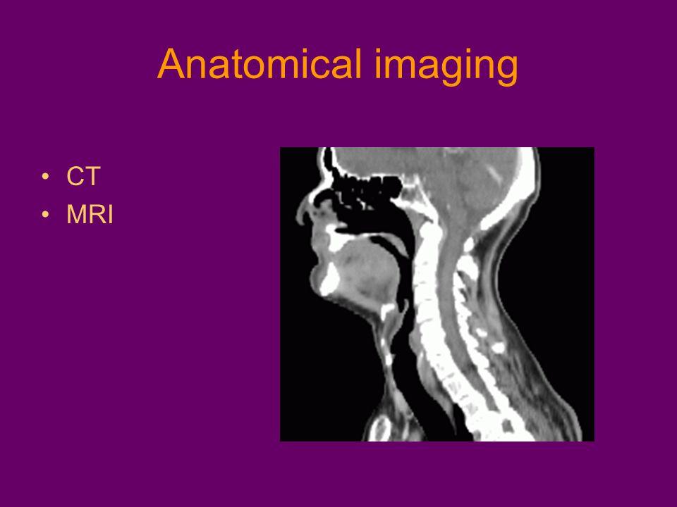 Anatomical imaging CT MRI