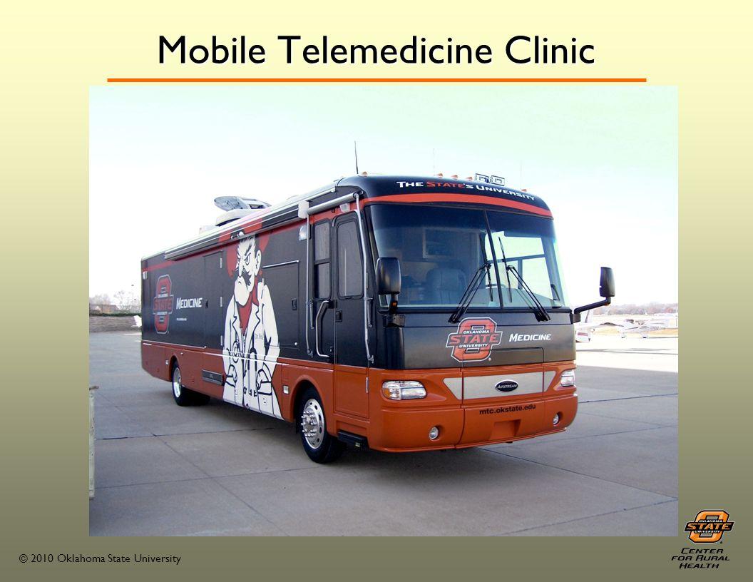© 2010 Oklahoma State University 2010-2011 Rural Clinic Rotation Sites