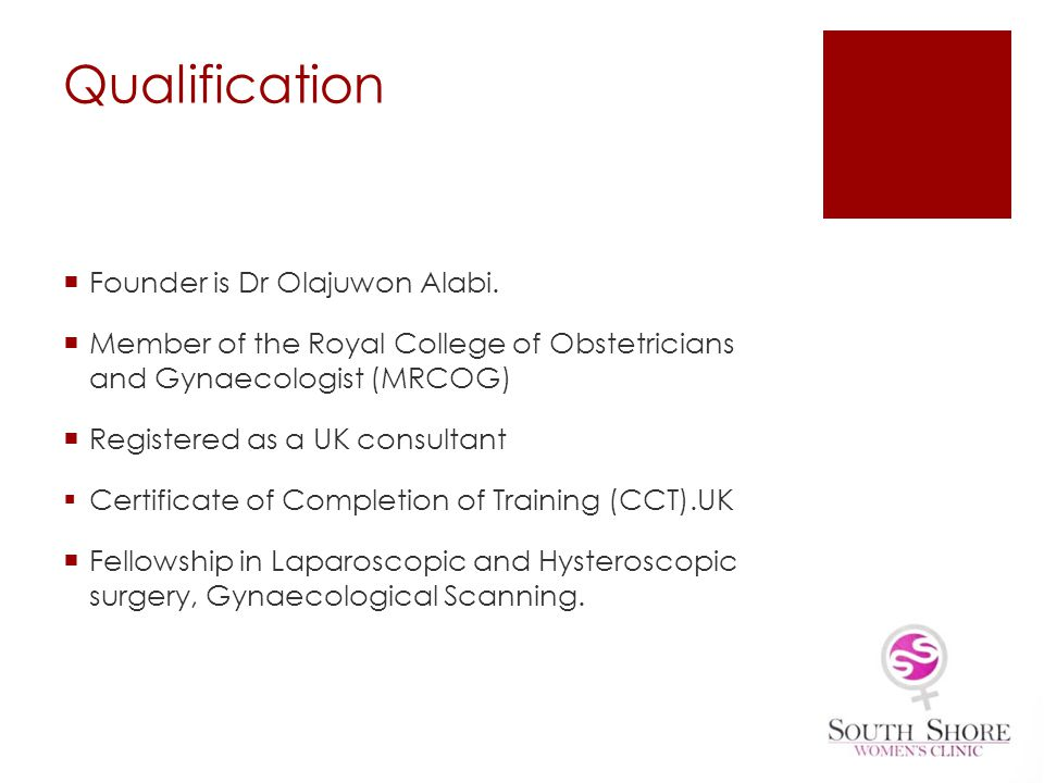 Formerly a Consultant Gynaecologist in the UK At Liverpool womens Hospital and North Manchester General Hospital.