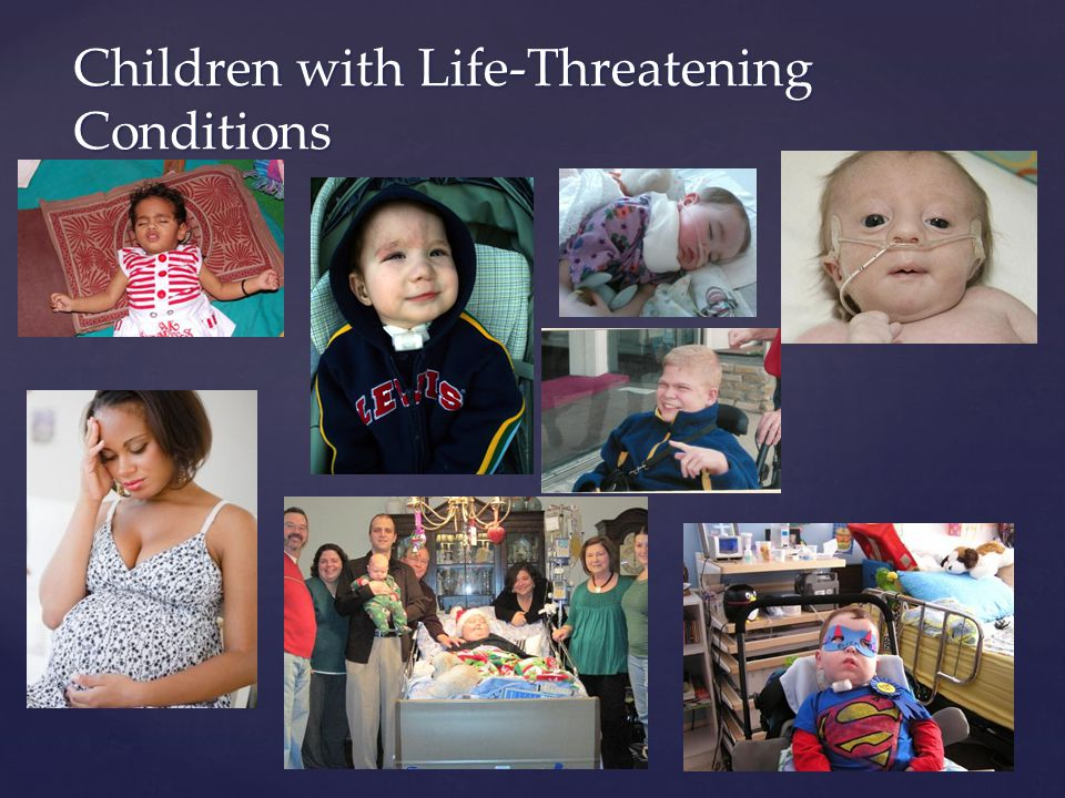 Children with Life-Threatening Conditions
