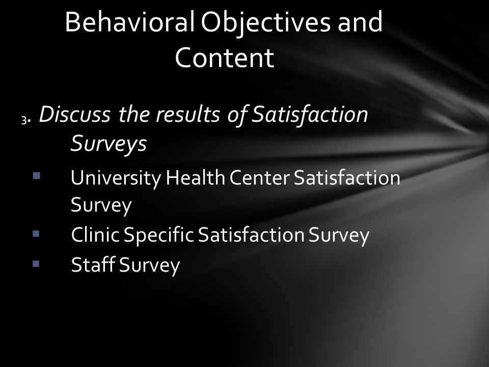 Patient Satisfaction is influenced by many factors.