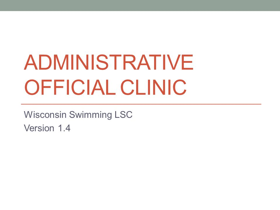 Swim-offs Part of preliminary process Must be done after scratch period closes May be at any time agreed to by coaches and Referee, however no longer than 45 minutes after last heat of last event for either swimmer in prelims Coordinate with Meet Referee as to who will set up Add event in Hy-Tek Common convention: add new event with same event number with a S after E.g.