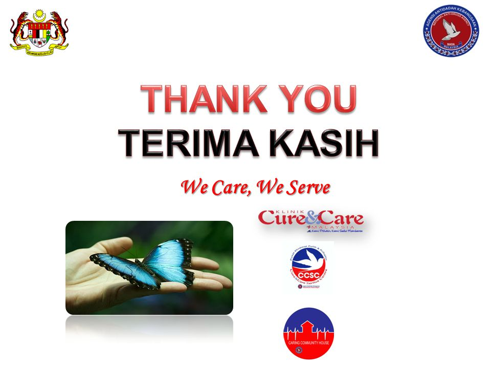 We Care, We Serve