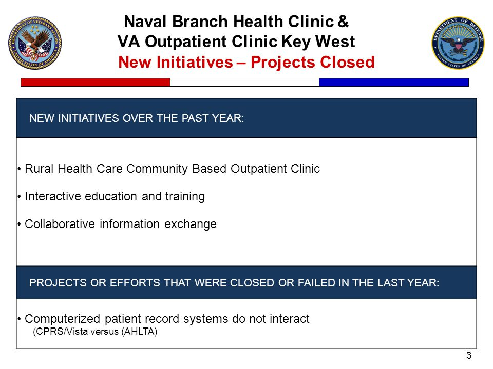 Naval Branch Health Clinic & VA Outpatient Clinic Key West 4 Joint Venture Performance Measures PMs USED TO TRACK JV SUCCESS: Revenue generated Access to care and missed opportunities DATA SOURCES USED FOR THE PMs: Reimbursable amounts to the VA and DoD Rates –Psychiatry OUTCOMES FOR EACH PM LISTED: FY 2010 –$1,346,354 DVAMC – Miami –$ 194,161 Key West 12% missed opportunities and 97% utilization