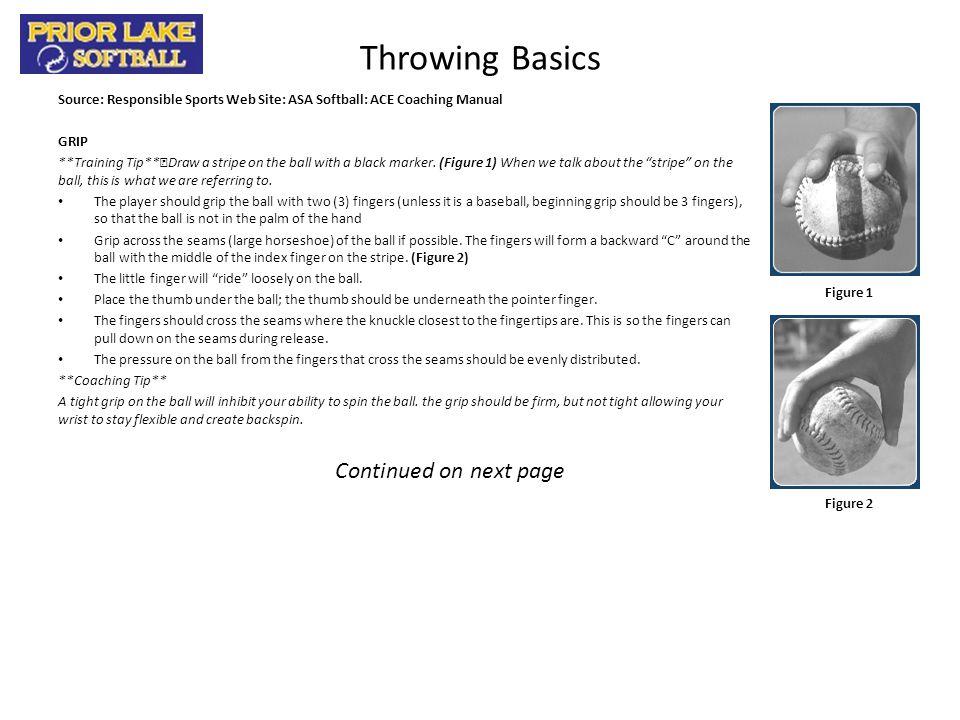 Throwing Basics – pg.