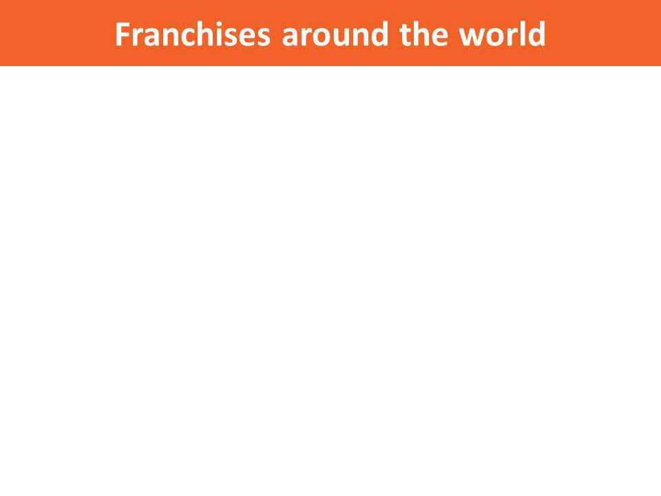Franchises around the world