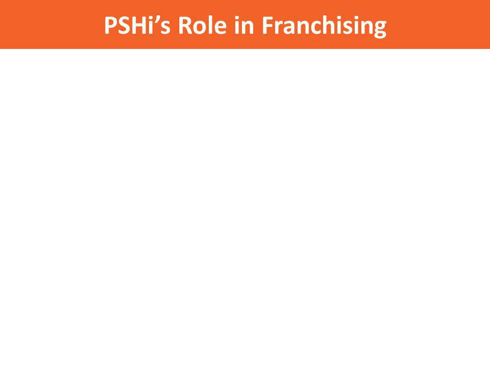 PSHis Role in Franchising