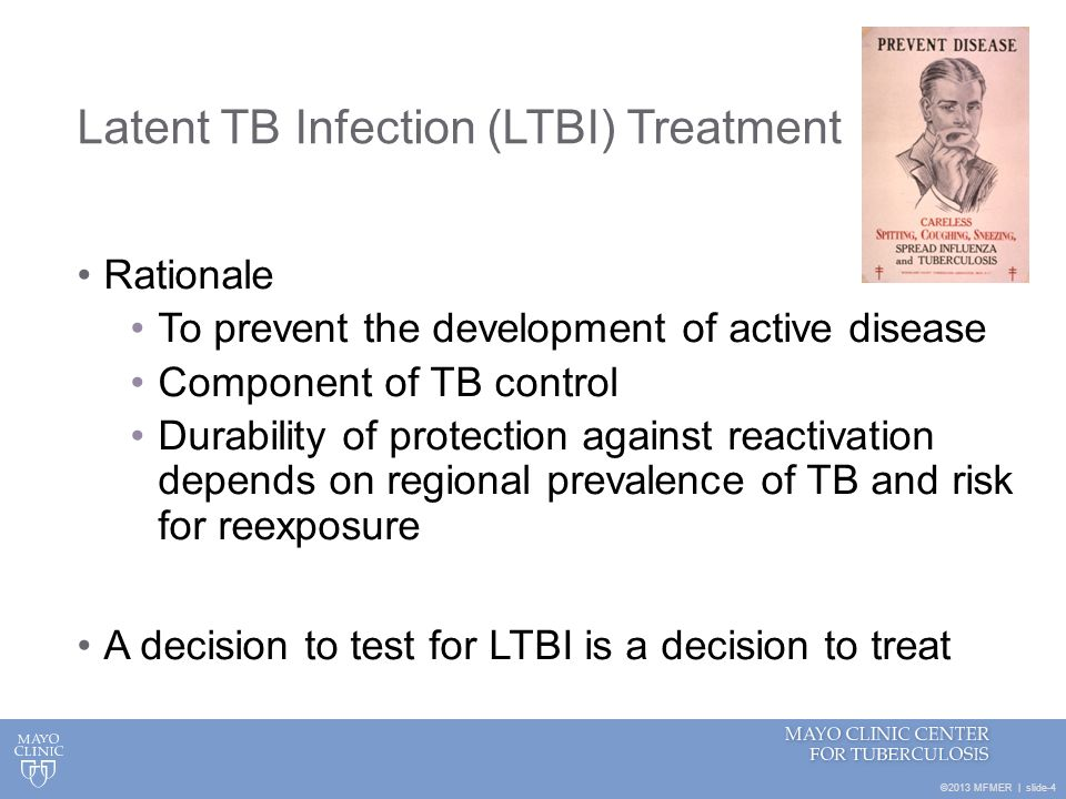 ©2013 MFMER | slide-45 In what cases should the continuation phase of TB therapy be prolonged from 4 months to 7 months.