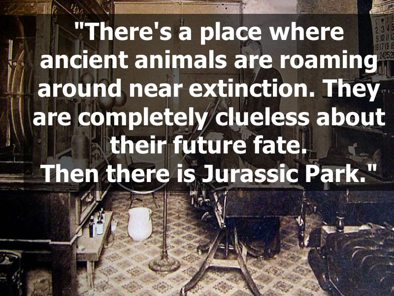 There s a place where ancient animals are roaming around near extinction.
