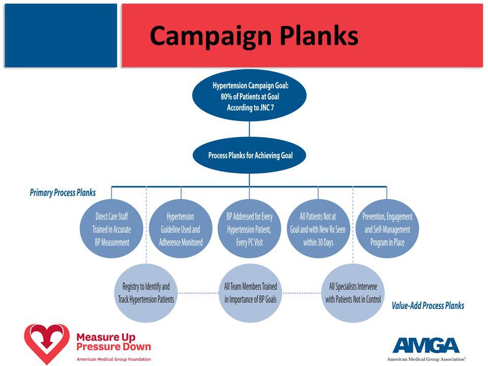 Campaign Planks