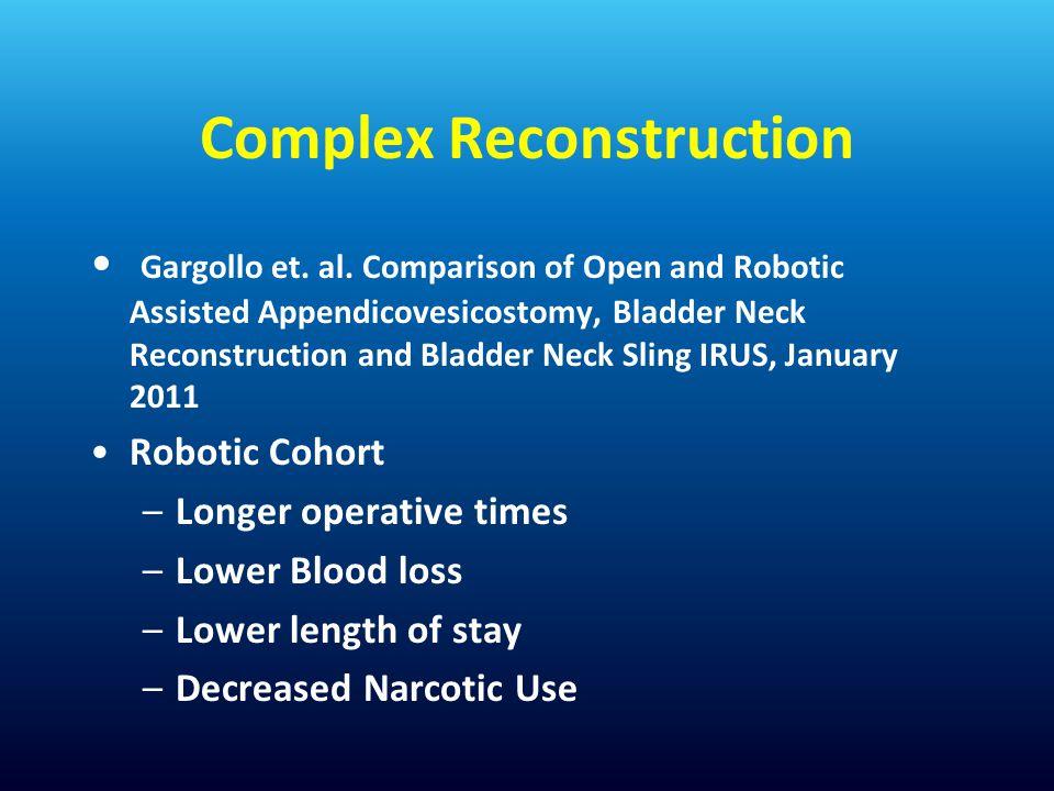 Complex Reconstruction Gargollo et.al.