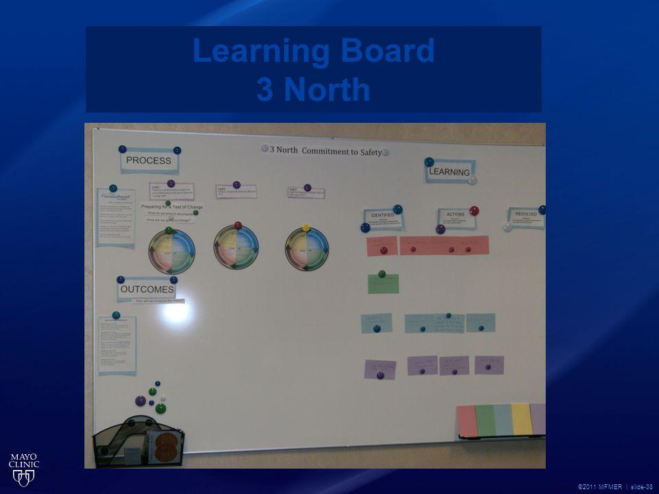 ©2011 MFMER | slide-38 Learning Board 3 North