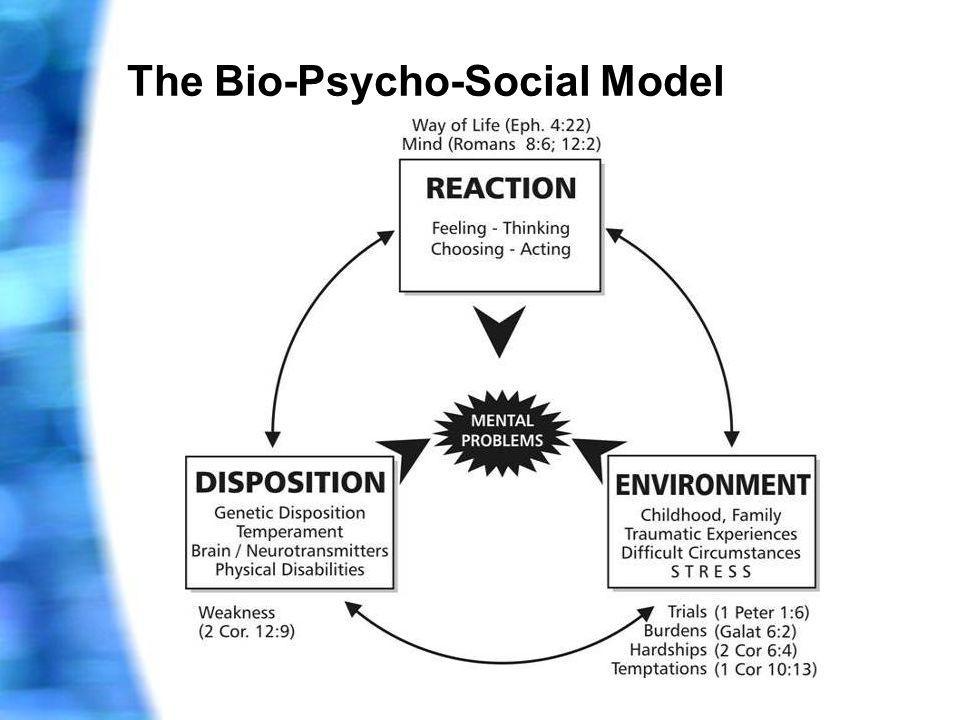 The Bio-Psycho-Social Model