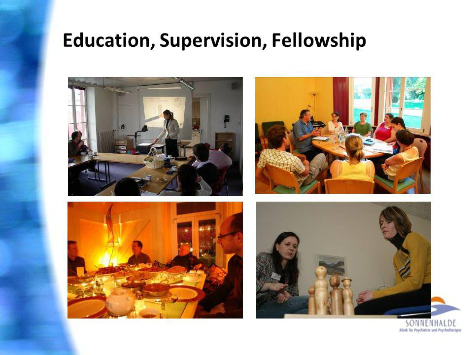 Education, Supervision, Fellowship
