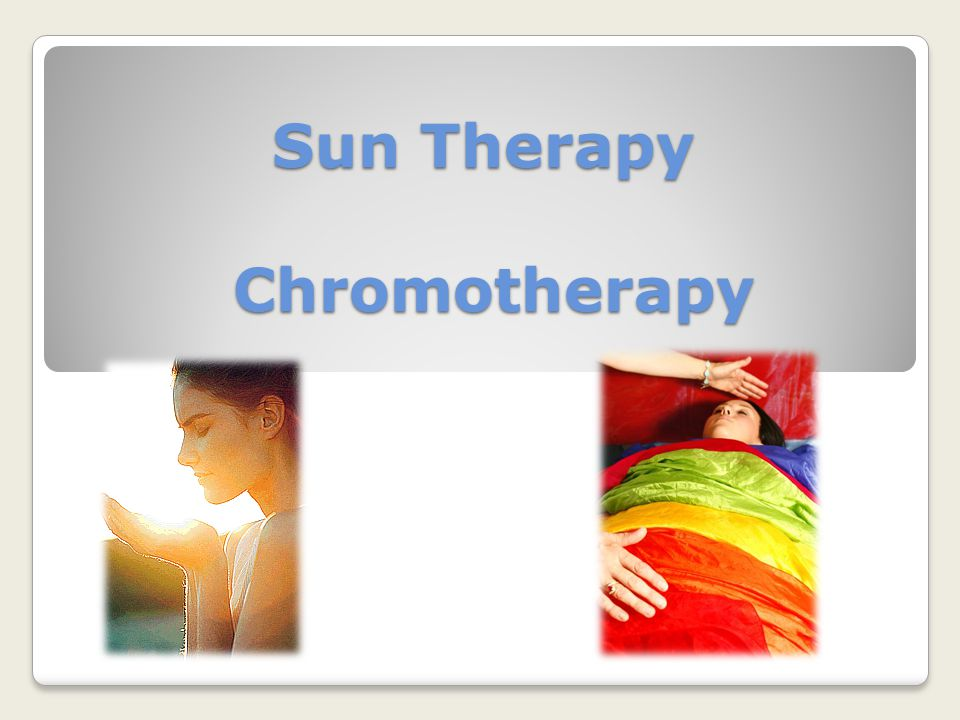 Sun Therapy Chromotherapy