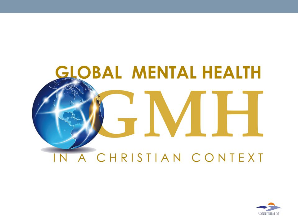 Seven Principles of Mental Health in a Christian Context Dr.