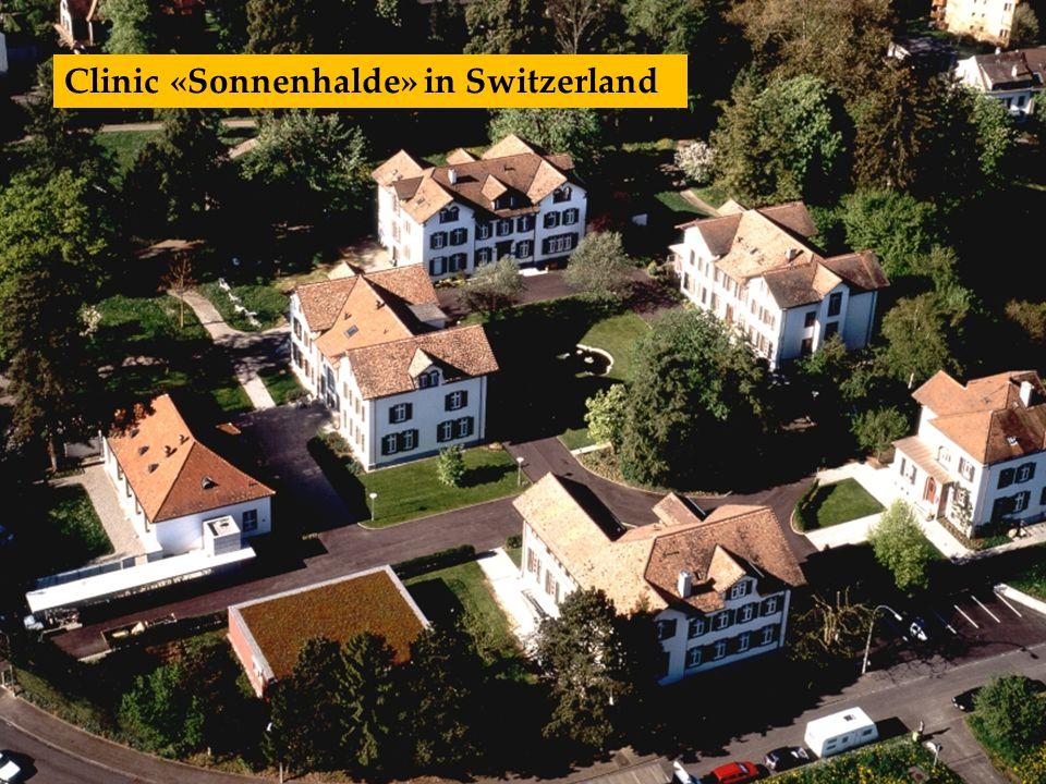 Clinic «Sonnenhalde» in Switzerland