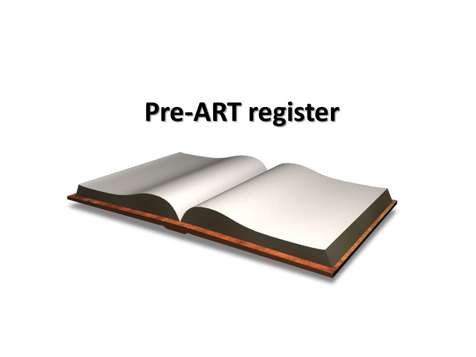 Pre-ART register