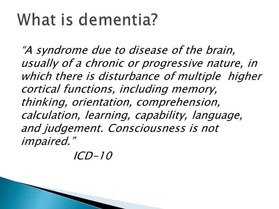 NICE recommend that all patients who fall into severe category are considered for discontinuation of AChEIs May still be beneficial for Behavioural and Psychological Symptoms of Dementia (BPSD) even if cognition has declined Less cost implication now Consider if experiencing harmful effects or deteriorated to extent of palliative care Discuss with carers