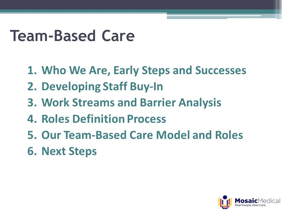 Challenges Along the Way Leadership transition Remote locations Balancing patient care and meeting time Epic limitations