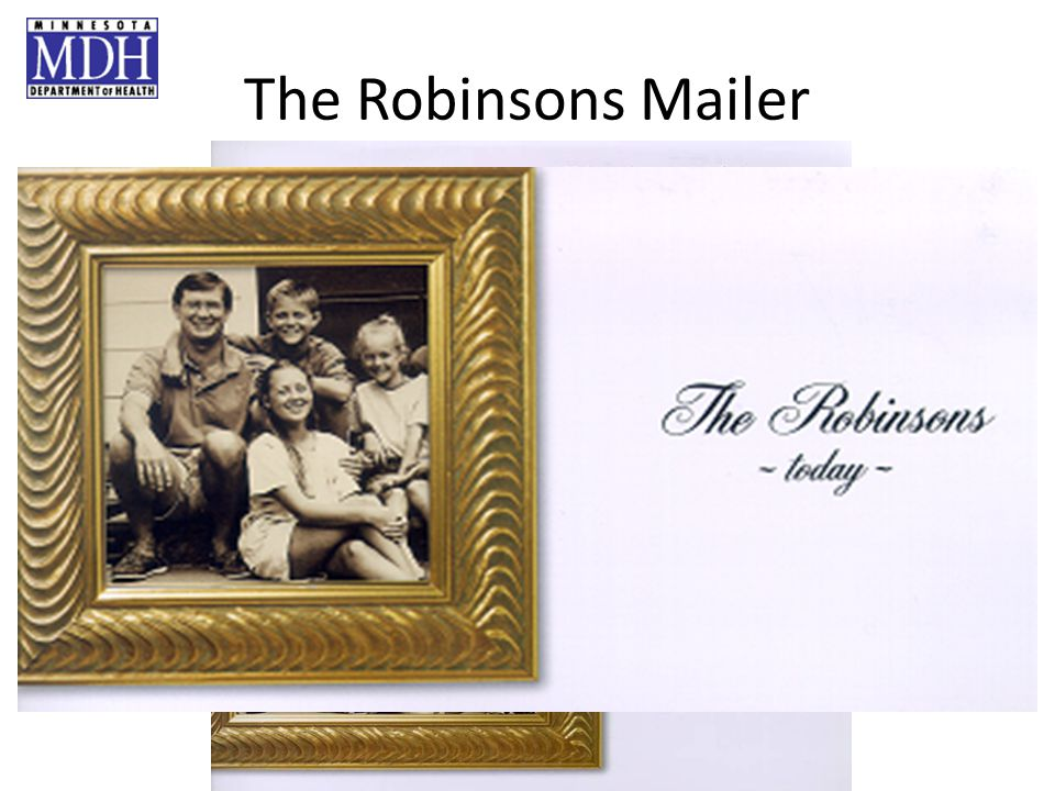 The Robinsons Mailer