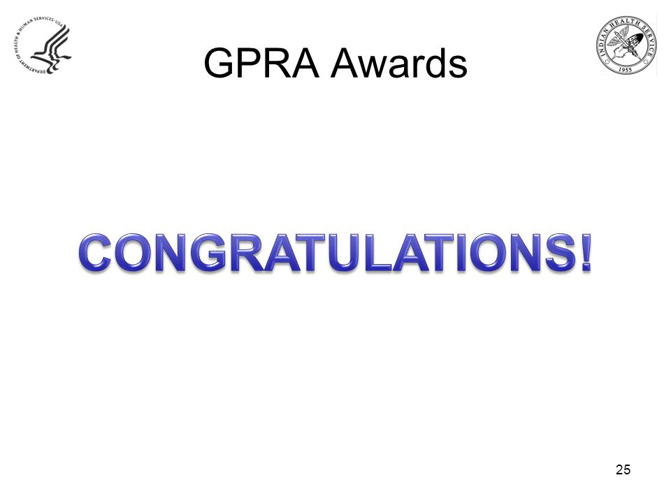 GPRA Awards 25