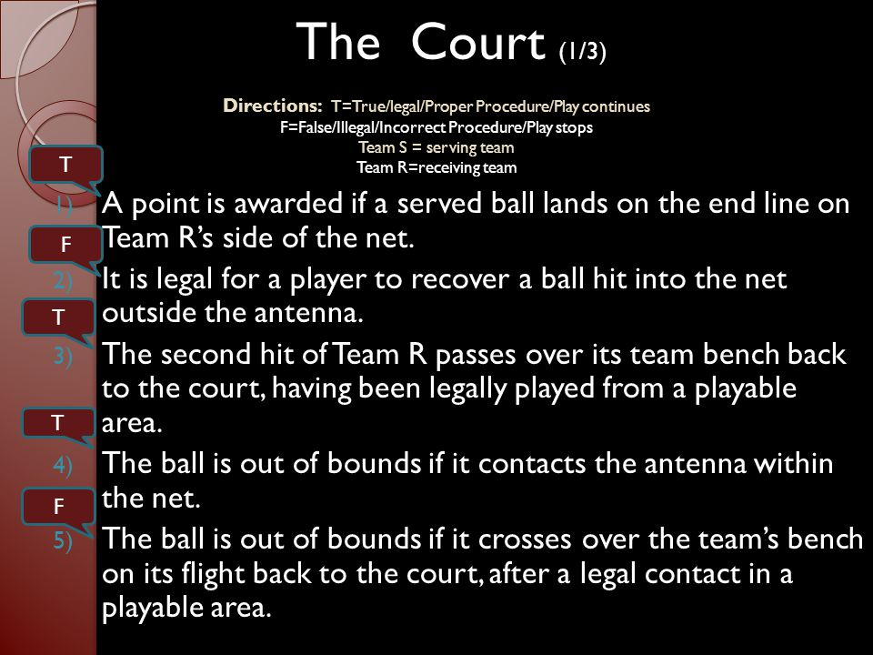Officials Responsibilities and Positions 1) The R2 shall signal at the completion of each charged time-out, how many time-outs each team has used.