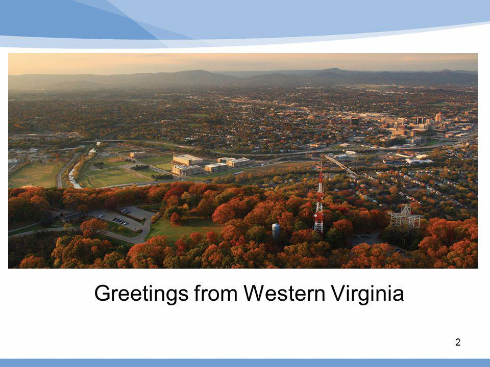 Greetings from Western Virginia 2
